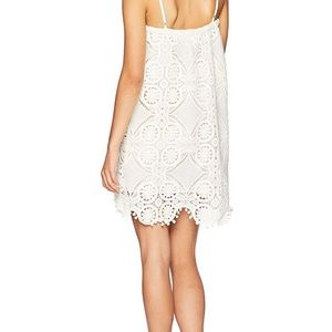 XS JACK by BB Dakota cloud white mini dress
